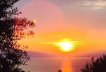Sunsets / My little paradise !   Kitries Messinia Greece