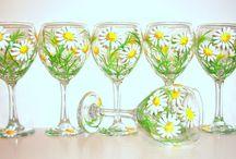 bridesmaid glasses, bridesmaids gift