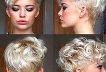 hår tricks/ frisurer kort hår