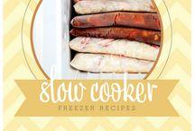 Cook Ahead / Crockpot and freezer meals
