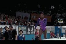 Gymnastics vault!