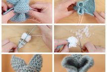 knitting, handmade projects
