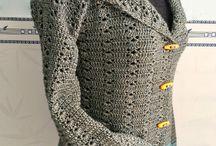 Crochet Jackets/Cardis/Coats