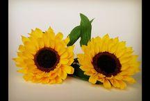 Kids ideas - paper flower