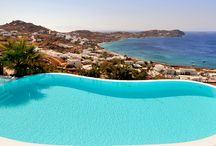 Apollo Retreat - Mykonos / Perched on a small hill above Agios Ioannis beach, Apollo Retreat offers panoramic views of exceptional beauty with in front Delos and Rhenia islands. For further information: http://www.mykonosvillas.com/our-villas/apollo-retreat
