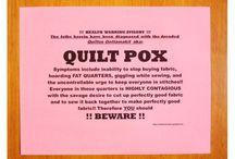 Quilt Sentiments / Poems, labels, sayings