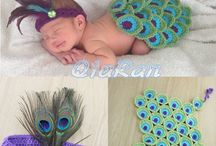 Newborn crocheted outfits