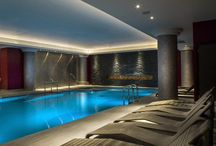 Spa Pools / A selection of spa pools, vitality pools and hydro pools we have installed