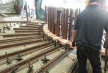 Presa lemn stratificat