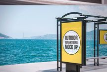 Outdoor Ad mi-l up