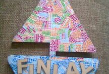 Personalised Decopatch Gifts / Add names, places and shapes to create a unique piece of art!