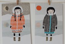 Inuits / by Anne Leclerc
