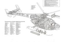 Heli Cutaways / To Print and decorate your room Hobbies.