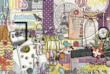 Travel scrapbooking kits