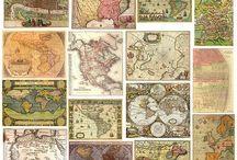 Винтажные карты