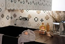 Marvellous Mosaics by Elegance Tiles / Whether you want to make a statement in your bathroom, glamourise the pool area or simply add some sparkle to your home with a feature wall, mosaic tiles are guaranteed to impress!