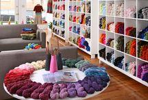 My Pinspiration {yarn shops}!