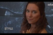 MBC Style TV <> Imogen Belfield featured interview ! / Filmed at her showcase in Rock Vault - Somerset House @ London Fashion in Feb 2014, Imogen Belfield was interviewed for MBC Style TV for a Middle Eastern audience.