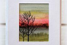 schilderen bomen