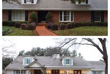 Before and After: Homes changed for the better / These before and after pins shows you can make run down, plain homes looks fresh and new.