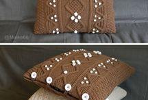 Knitting / Cushions