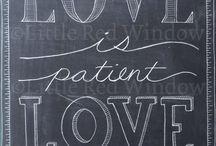 Chalk board art