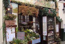 Superb Storefronts / quaint little shops.