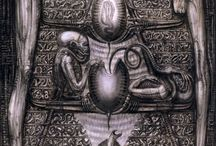 HR GIGER (alien art)