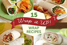 Wraps / Div. wraps, småmat