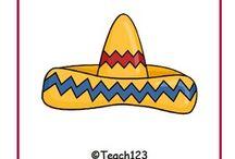 Cinco de Mayo / Cinco de Mayo activities for Kindergarten, first grade, second grade, third grade, fourth grade, and fifth grade.