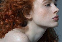Red Girl Hair