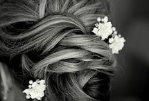Something Bridesmaids Hair Ideas / These are just suggestions because some of you asked. Getting your hair done is totally optional. Up or down is fine, as long as your beautiful faces show!