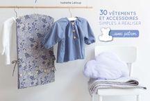 Je couds pour bébé, le livre Marie-Claire et Frou-Frou d'Isabelle Leloup