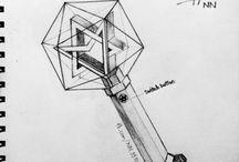 Lightstick ideia