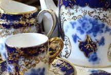 Tea part decoration