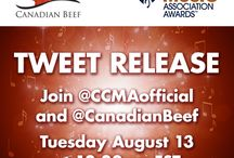 Canadian Country Music Association Awards  / Canadian Beef is the social sponsor for the Canadian Country Music Association Awards. Follow our board if you want to see our team reporting LIVE from the event on September 8, 2013 from Edmonton.
