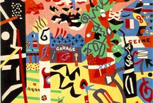 Stuart Davis American Painter / Graphic wizard