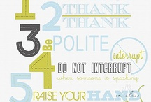 Manners Infographic