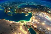 Egypt, From Space. / Egypt — Space — Satellite Imagery