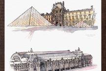 Skicování-architektura