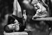 Wine n' Women / Wines and ladies are inseparable. They prefer different wines. They express individual emotions and desire.