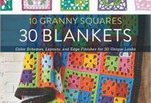 Crochet Granny Squares books