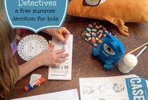 Devotions for the kids / by Jolen Hollingsworth