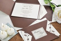 Ideas: Invitations/Programs / Wedding #invitations and programs are one of the important factors of your #wedding, and it's important to make them uniquely you with your personalities displayed. Here is some inspiration for your stationery.
