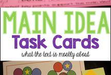 Task Cards for ELA 3-5