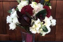 burgundy and wine flowers
