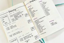 bullet journal travel planning