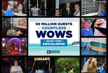"""RoyalWOW / Royal Caribbean International has just welcomed their 50 millionth guest onboard their ships. Royal Caribbean is celebrating this milestone all year long.   Currently they are asking guests to submit their """"WOWs""""  via Facebook, Twitter, or other means. #RoyalWOW"""