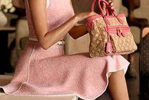 Розовые наряды
