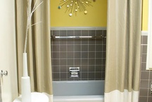 Bathroom ideas / by Heather Waddle